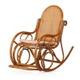 Плетеное из ротанга кресло-качалка Нуго Кембали натуральная.